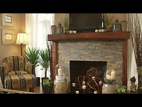 Budget-Friendly Stone Fireplace Makeover - DIY Network