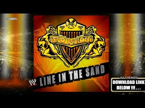 "WWE: ""Line In The Sand"" (Evolution) [Intro Cut] Theme Song + AE (Arena Effect)"