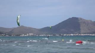 wind in Mallorca edmkpollensa com kiteschool wind NE kite spot Portblue Club
