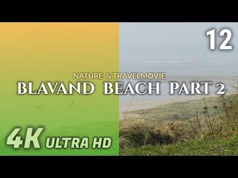 BLAVAND BEACH PART 2 - DANMARK / DÄNEMARK #12 - 4K / Ultra HD / UHD 25p - Panasonic Lumix FZ300