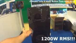 Unboxing (desembalando) Sony MHC-V5