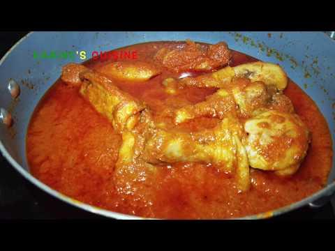 délicieux-poulet-à-la-sauce-tomate//-très-facile