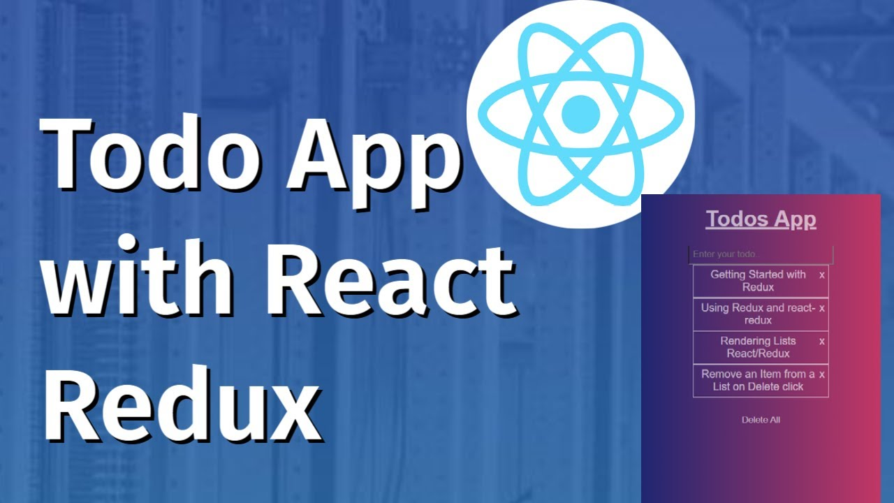 Building Todo App with React Redux