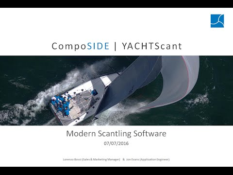 CompoSIDE Marine Series Webinar 1 |  Scantling Design of Sailing Yachts and Motor Boats