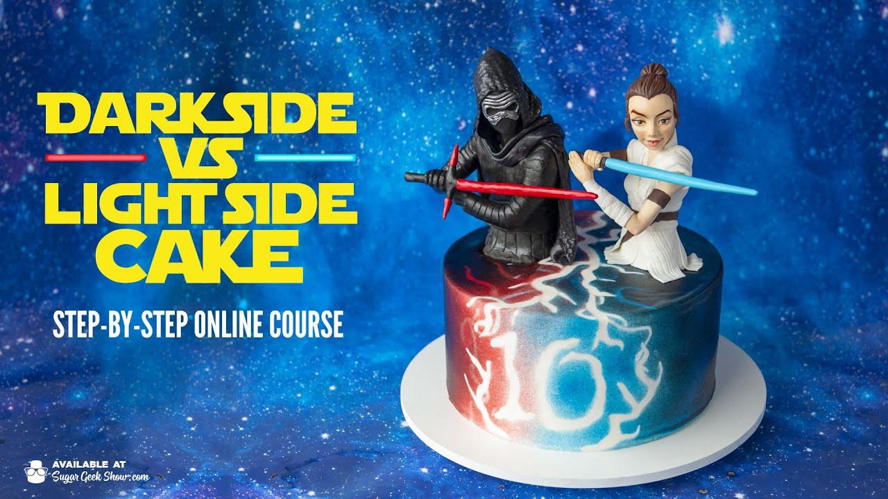 NEW ONLINE COURSE - Dark vs Light Cake - ON SUGAR GEEK SHOW