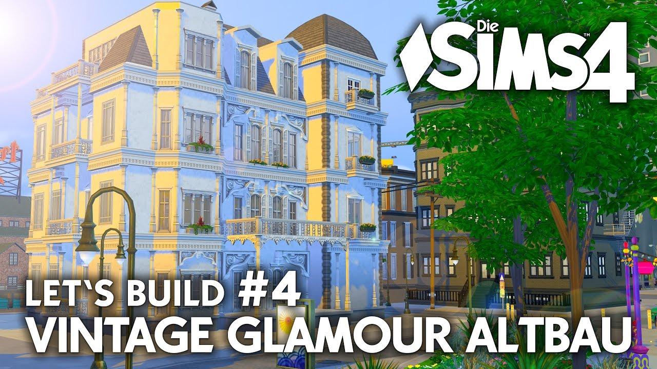 grundriss die sims 4 haus bauen vintage glamour altbau 4 youtube. Black Bedroom Furniture Sets. Home Design Ideas