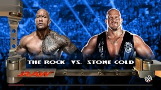 WWE2k15(PS4版) #7「ザ・ロック vs オースチン」 thumbnail