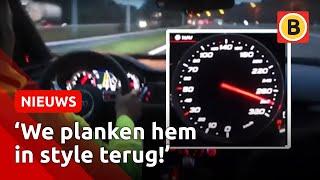 Rapper Boef scheurt met 300 kilometer per uur door Tilburg en Berkel-Enschot