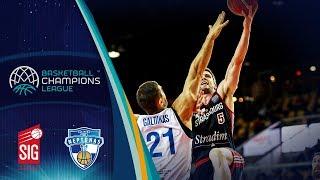 SIG Strasbourg v Neptunas Klaipeda - Highlights - Basketball Champions League 2018-19