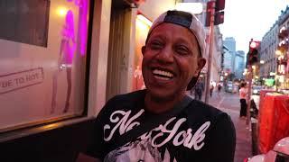 Mike, 53, ist Koberer im Frankfurter Bahnhofsviertel