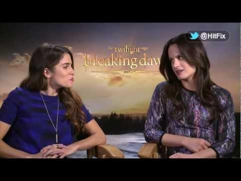 Nikki Reed and Elizabeth Reaser talk Breaking Dawn Part 2