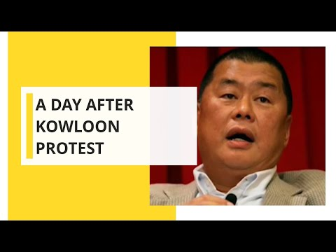 A day after Kowloon protest, Jimmy Lai Meets Pence, Pompeo on Hong Kong Issues
