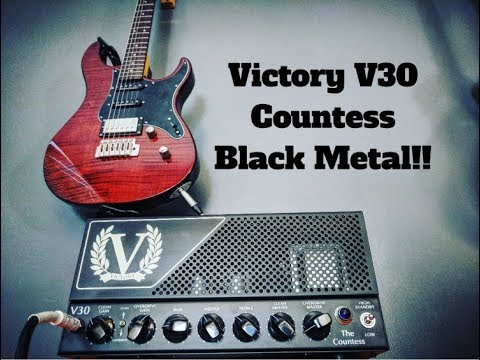 Dialling In A Black Metal Tone With The Victory V30 Countess Head