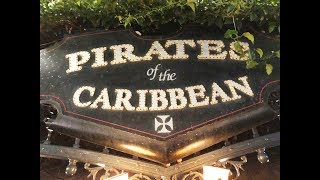 Pirates of the Caribbean FULL RIDE on final night of bride auction scene at Disneyland