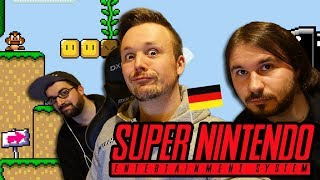 Germans Answer Questions While Playing SUPER NINTENDO 🔴 Ask Us ANYTHING