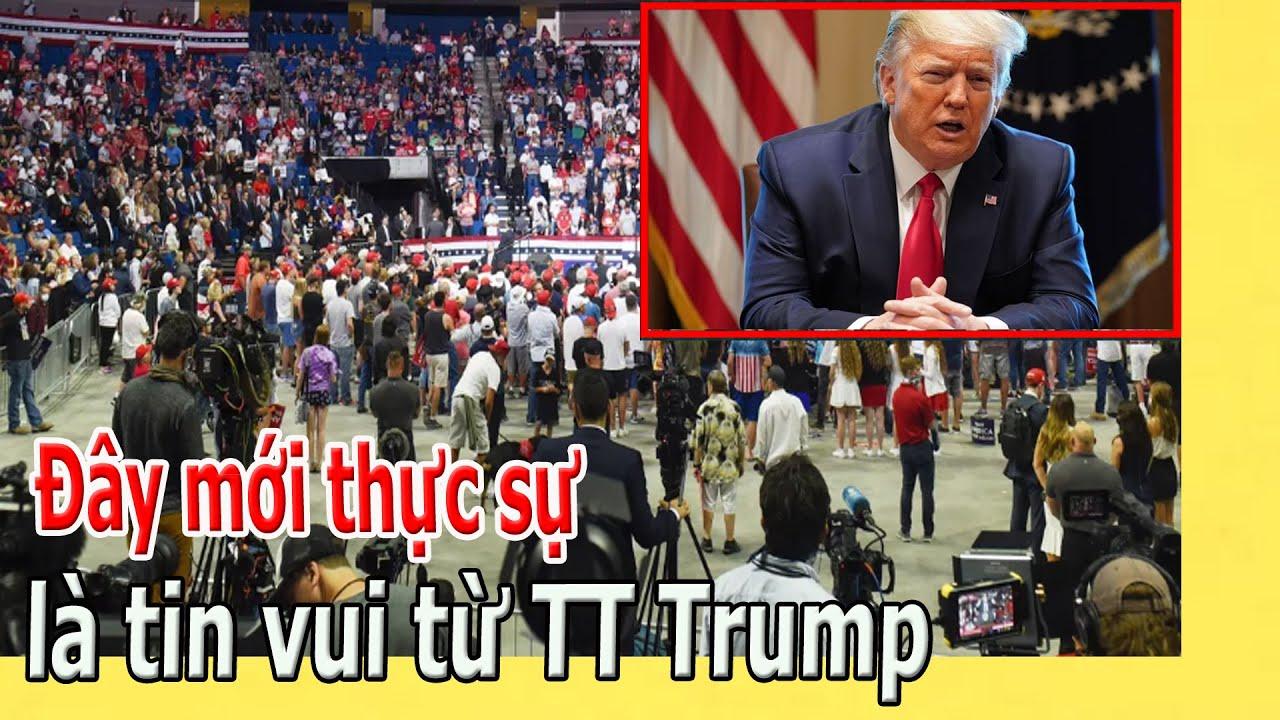 Đây mới thực sự là tin vui từ TT Trump