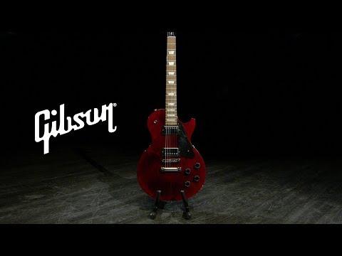 Gibson Les Paul Studio, Wine Red   Gear4music Demo