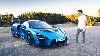 First Driving Impressions of the 2019 MCLAREN SENNA | 4K