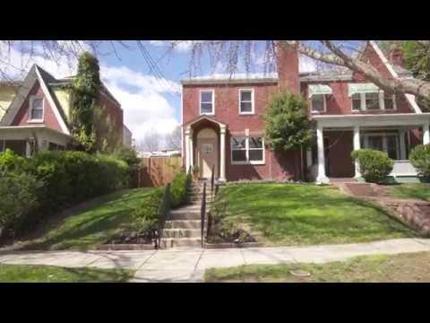 4316 12th Pl NE Washington DC. Beautiful Brookland - YouTube