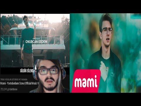KendineMüzisyen ForeverGames Muhammet'in Diss Videosunu izliyor( Mami - Youtuberların Sonu)