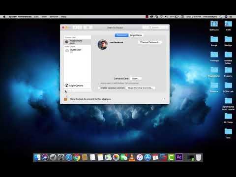 How To Create Admin Account On Mac