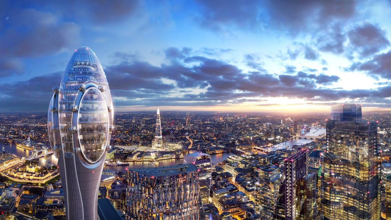 Foster + Partners designs The Tulip tourist tower alongside