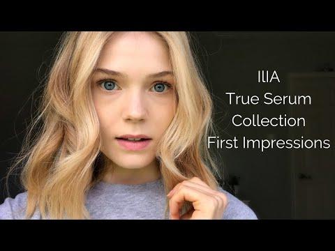 Ilia True Serum Line First Impressions | Primer, Foundation, Concealer | Samantha Parsons