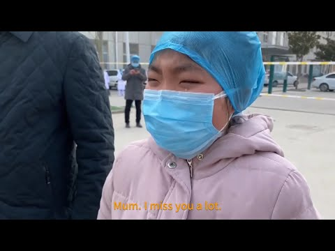 Chinese nurse in