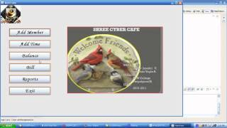 Cyber Cafe Management System Java Project