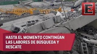 Derrumbe en obra en Monterrey deja siete muertos