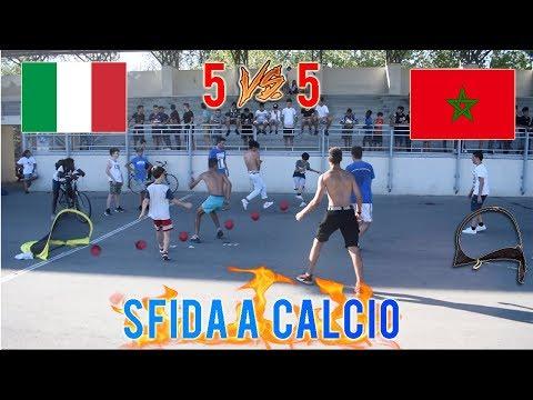 Italia VS Marocco - Sfida A CALCIO 5 Vs 5 • Italiani VS Marocchini