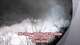 Rio Leça Quedas da Fervença 2016 - Monte Córdova Santo Tirs…
