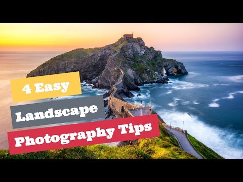 4 Easy Landscape Photography Tips