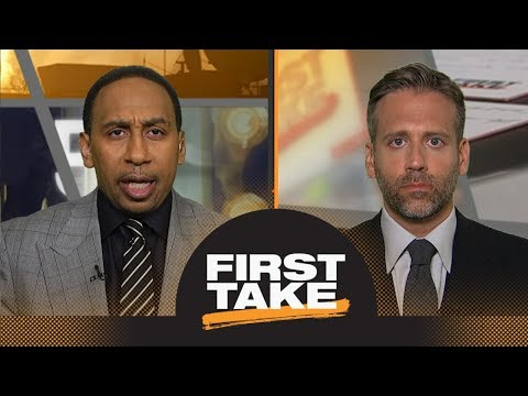 Stephen A. And Max Debate What The Phoenix Suns Should Do With The No. 1 Pick | First Take | ESPN