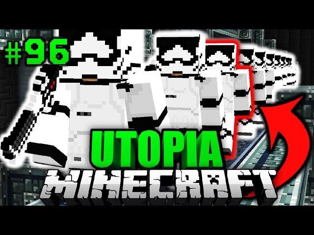 EINBRUCH bei 50.000 KLON ARMEE?! - Minecraft Utopia #096 [Deutsch/HD]