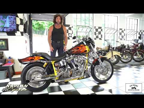 1999 Harley Davidson FXR Custom Santee Framed Fire Breathing Beast