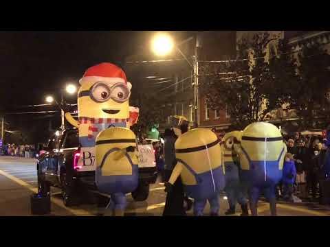 Clayton Christmas Parade, 2018