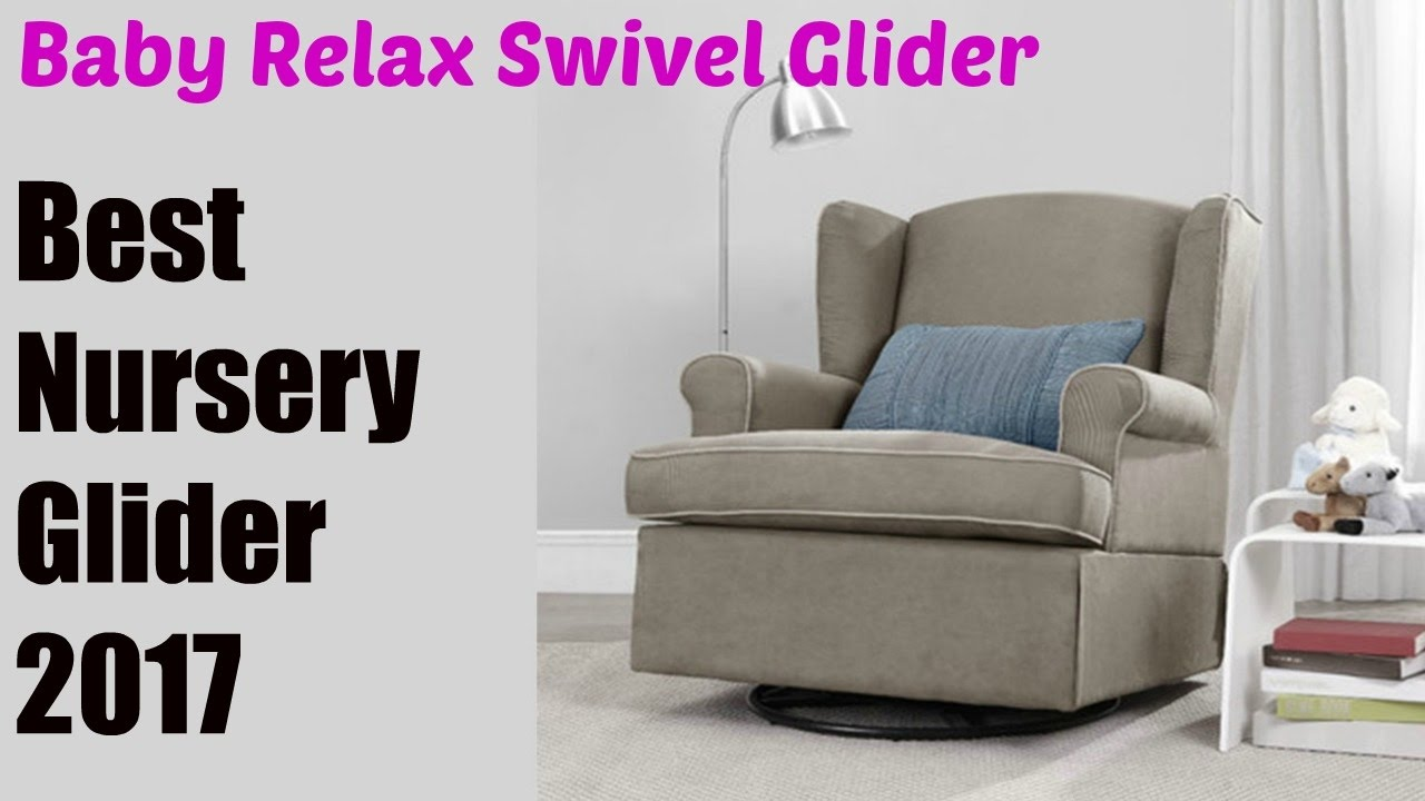 Baby Relax Swivel Glider, Dark Taupe | Best Nursery Gliders 2017 ...