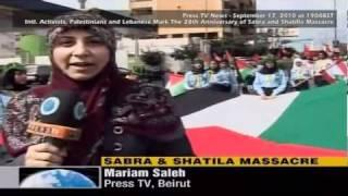 28th Anniversary of Sabra and Shatila Massacre