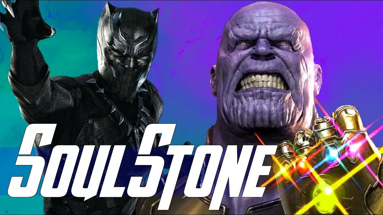 Marvel Black Panther Black Panther Avengers Infinity: Black Panther & The Soul Stone In Captain Marvel Or