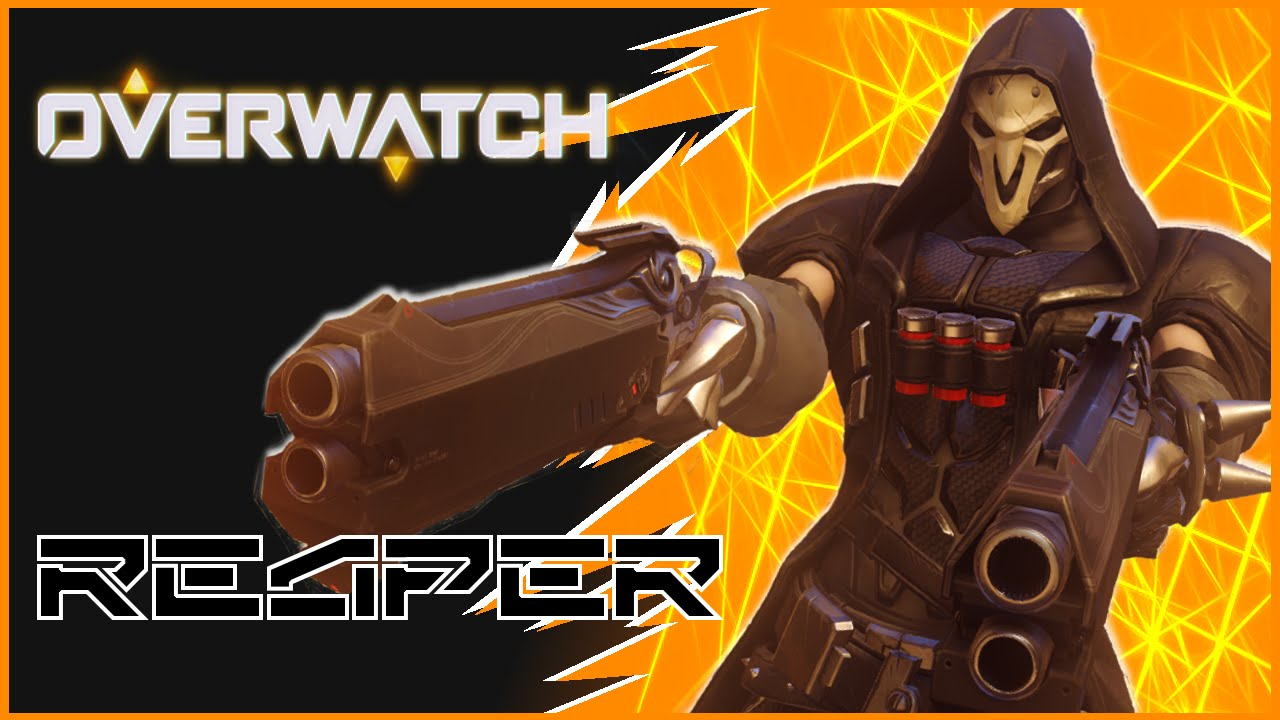 Overwatch: Early Access Open BETA   Reaper Gameplay   FORGOT MY ...