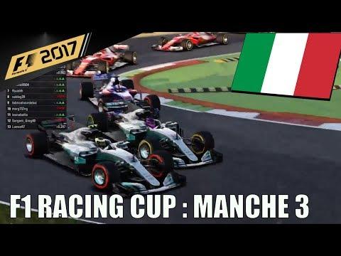 Championnat F1 Racing Cup : Manche 3 :  Grand Prix d'Italie - J.L Racing