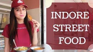 Best Street Food in Indore| Chhappan (56) Dukaan