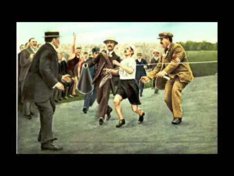 Federico Buffa racconta DORANDO PIETRI e la MARATONA - Olimpiadi Londra 1908 -