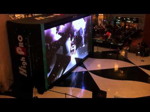 Big InterActive Screen in 360º Mall / Kuwait