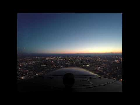 Looping the Chicago loop in Cessna 172