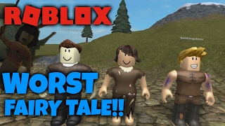 WORST FAIRYTALE in ROBLOX! (feat. TheHealthyCow, TheGameSpace, OmegaNova, EchoWolf)