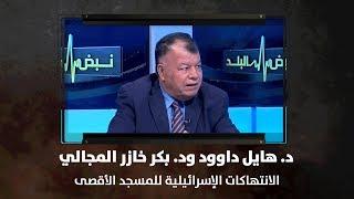 د. هايل داوود ود. بكر خازر المجالي - الانتهاكات الإسرائيلية للمسجد الأقصى - نبض البلد