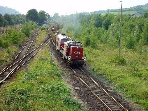 [KBS 355/356] Holzzüge im Weserbergland August 2005