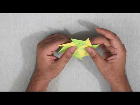Paper Fidget Spinner - How to Make a Fidget Spinner Without a Bearing